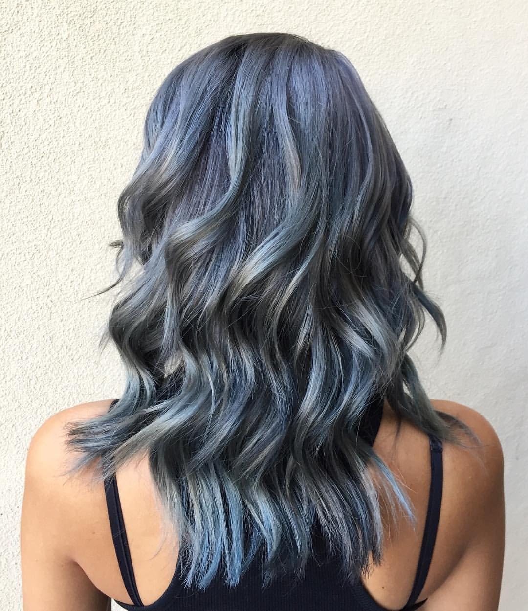 """@hairbybriananicole """"SLATE GREY"""" Grey Hair, Silver Hair ..."""
