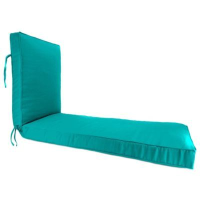 Solid 80 X 23 Chaise Lounge Cushion In Sunbrella Canvas Aruba