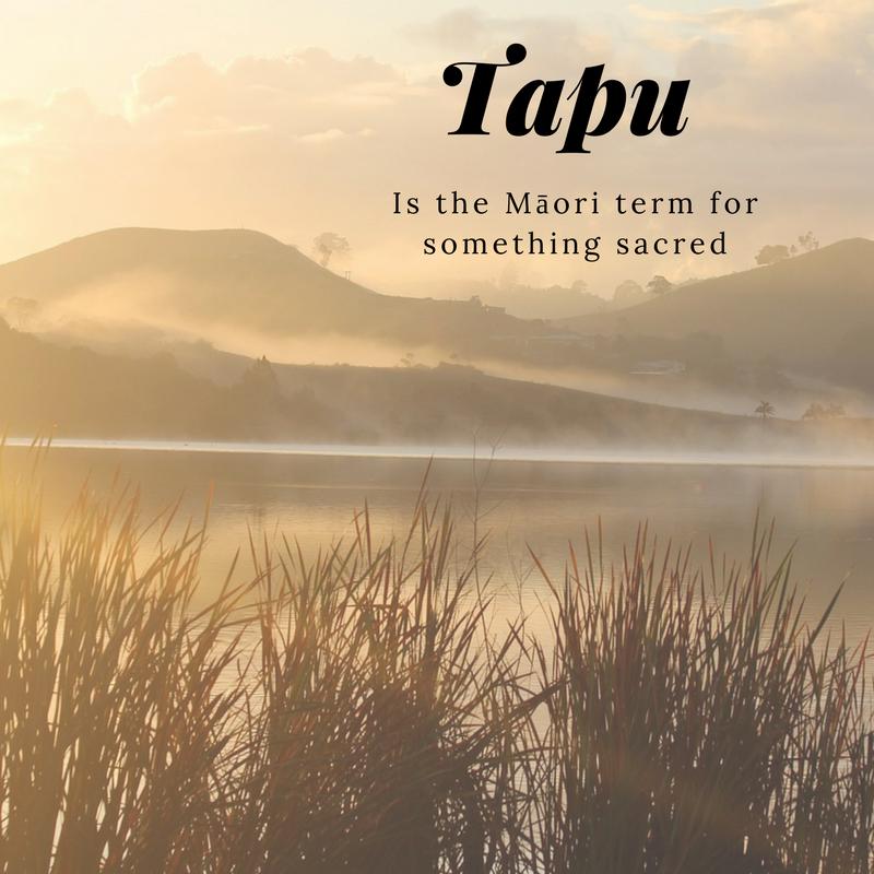 Maori Tapu