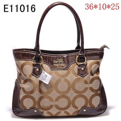 Save 2017 New Arrival Coach Handbags Outlet Brown Factory Online Us With Free Ship 24 Hours Delivery