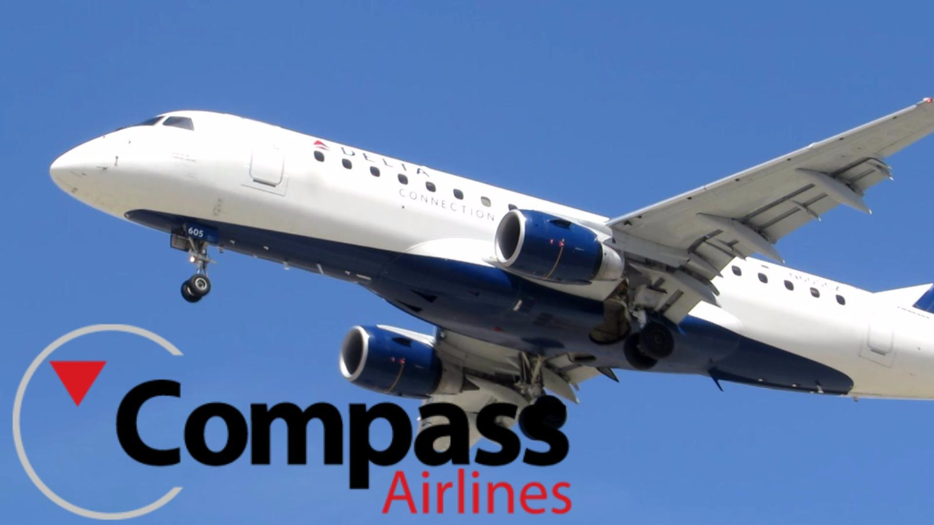 HD Compass Airlines Embraer ERJ170200LR Landing at San