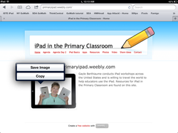 iPad in the Primary Classroom