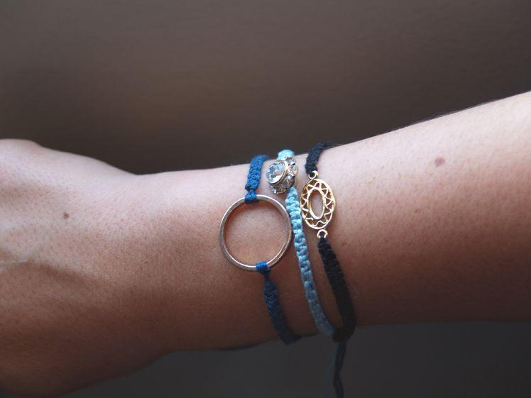 Diy Macrame bracelets