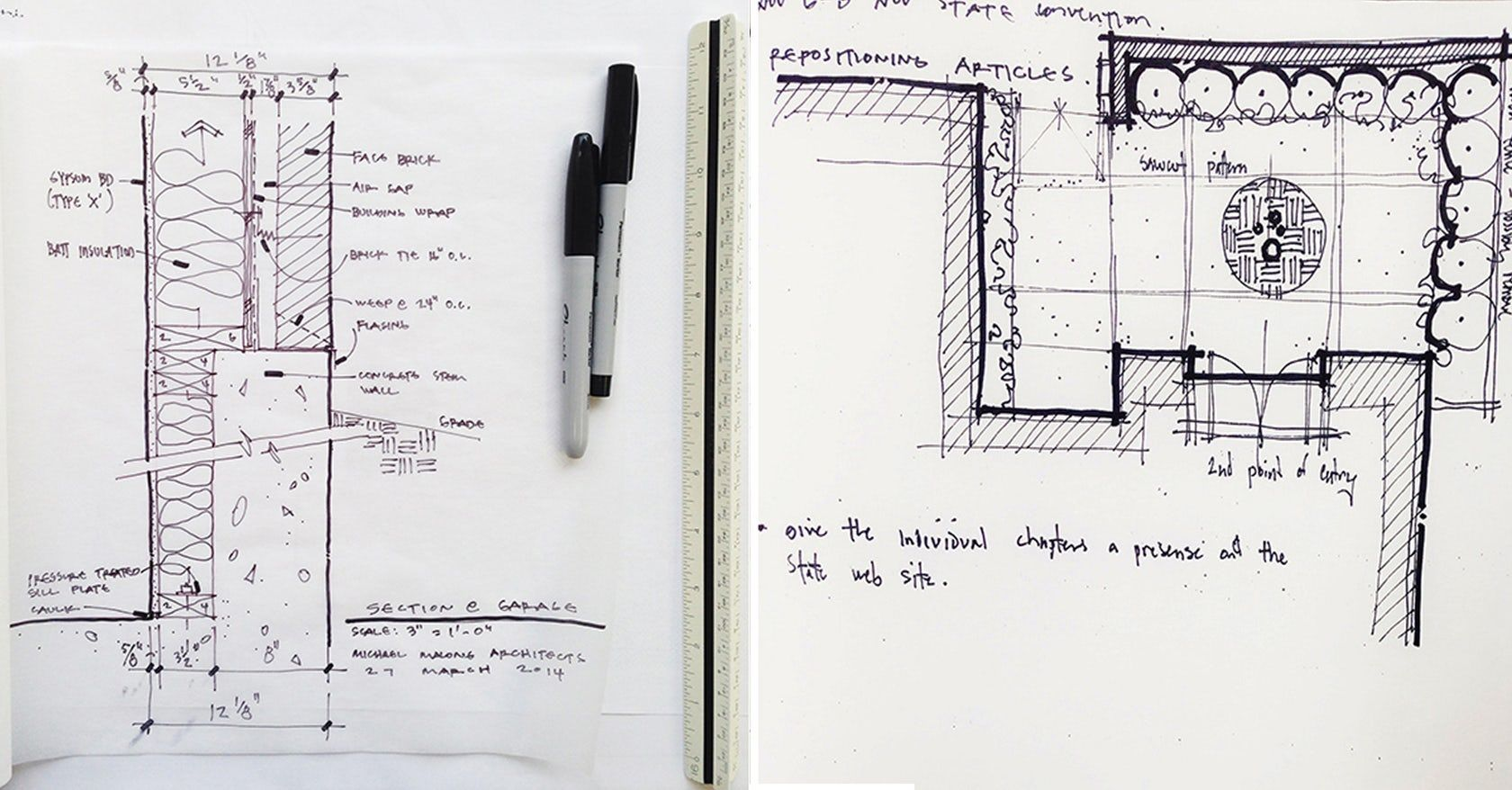 Bob Borson of 'Life of an Architect' offers some handy tips that should improve your architectural sketches.