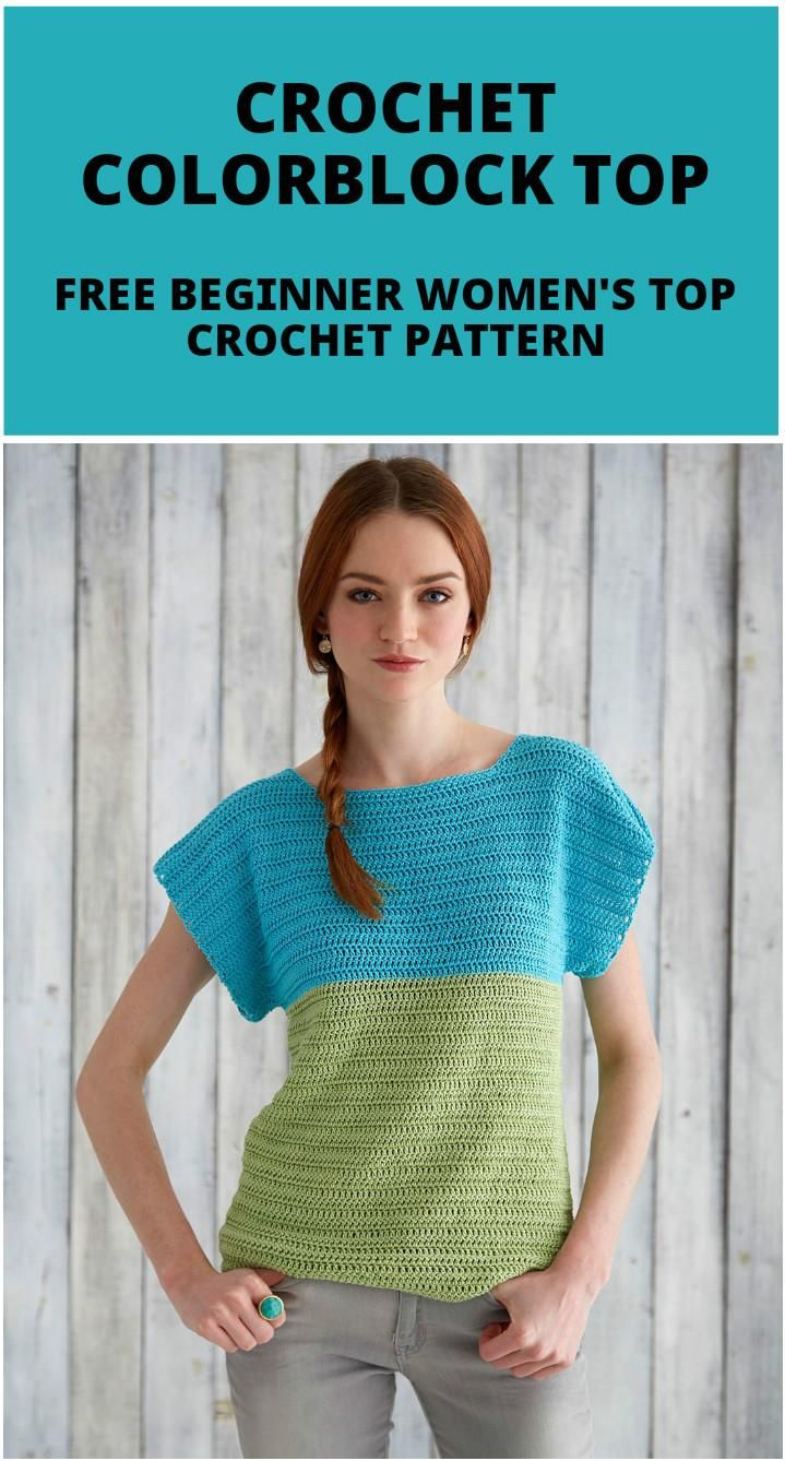 50+ Quick & Easy Crochet Summer Tops - Free Patterns | Crochet ...