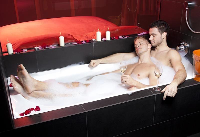 Bubble bath. #lgbt