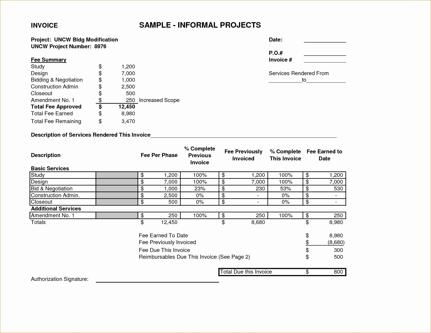 Invoice For Services Rendered Template Inspirational Invoice For Services Rendered Invoice Template Invoice Template Infographic Resume Template Render Design