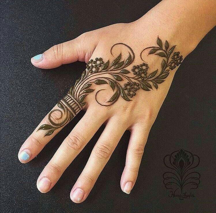 17 beautiful henna designs #hennadesigns