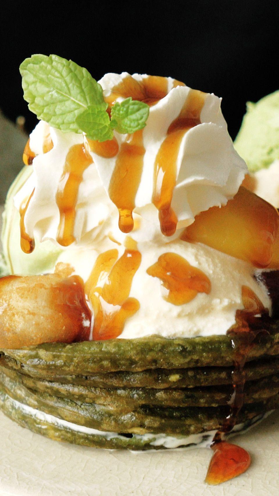 Matcha churros parfait recipe matcha dessert recipes
