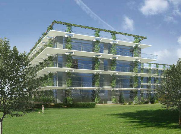EDYE ARCHITEKTEN Grünes Wohnen
