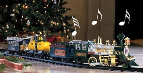 Classic Jumbo Moving Train Set for Around the Christmas Tree