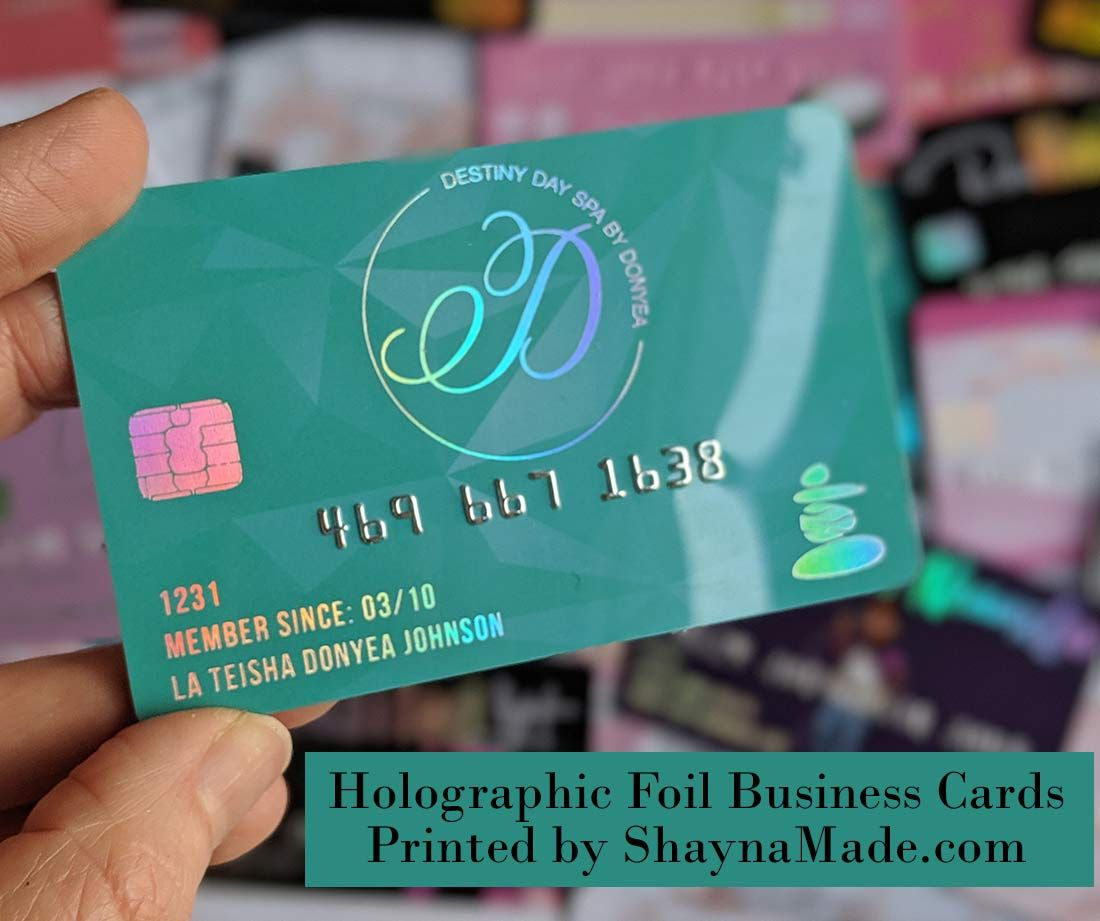 Plastic Credit Card Business Cards With Embossed Numbers Plastic Business Cards Credit Card Design Business Credit Cards