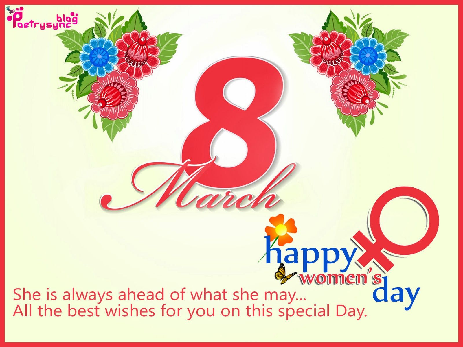 Happy International Womens Day 8 March Wishes And Greetings Sms