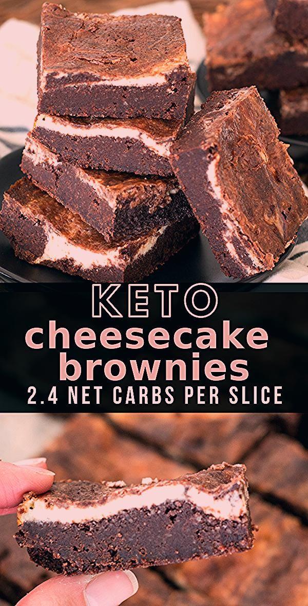 Photo of Keto Cheesecake Brownies