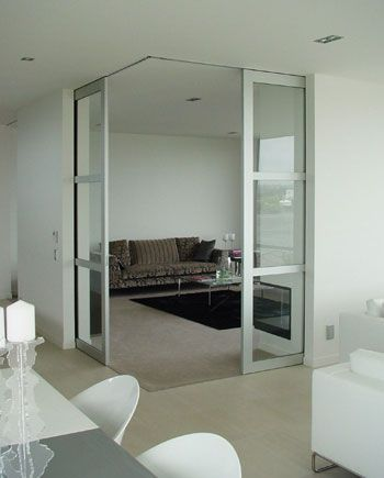 Cs Pocket Doors With Squarestop Full Height And