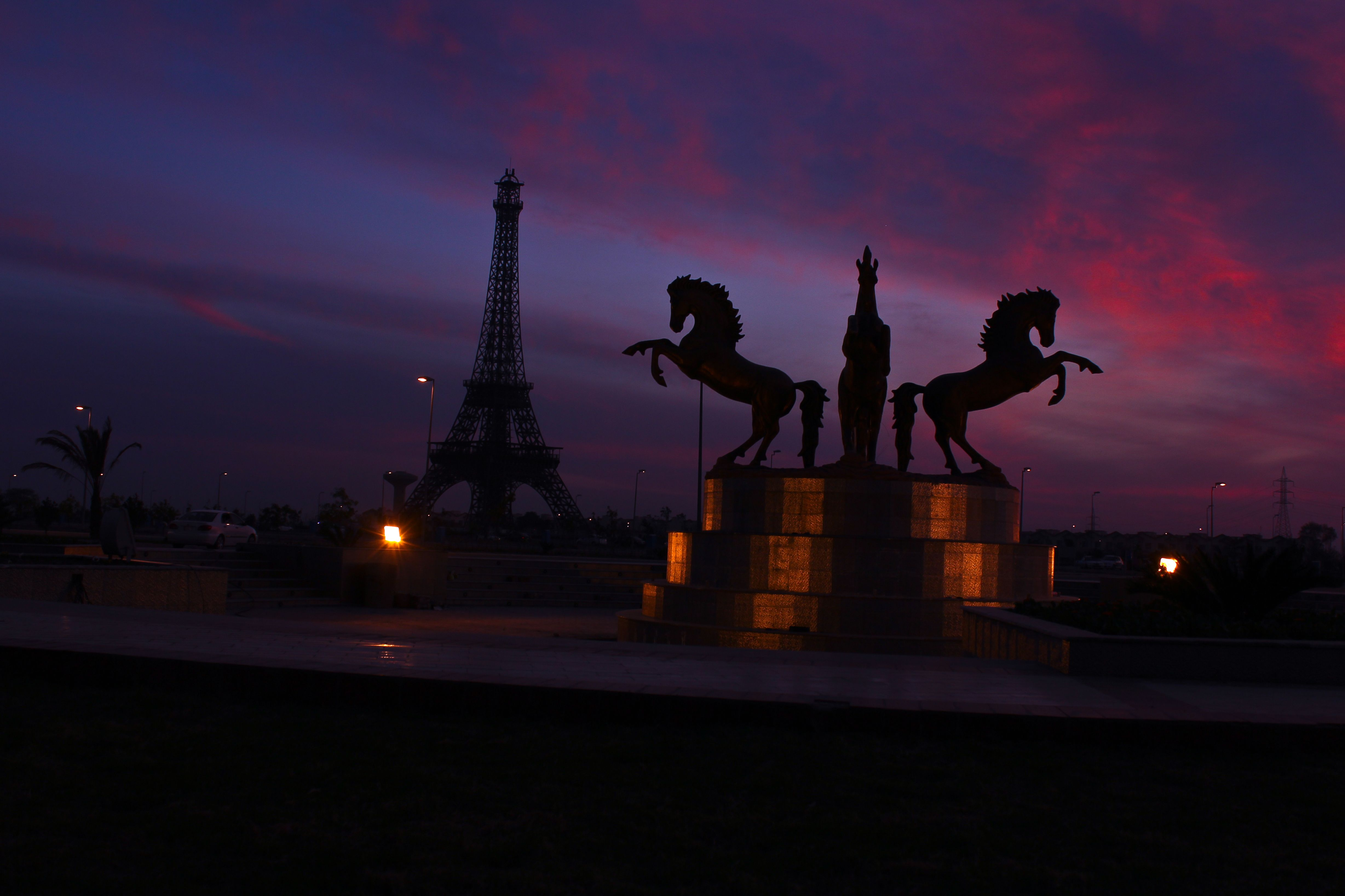 Lahore Eiffel Tower Was Constructed In 2014 In Bahria Town Lahore Punjab Pakistan 파키스탄