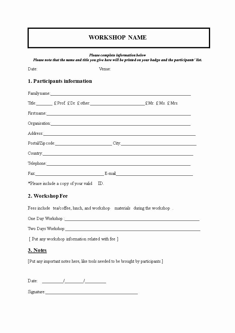 Class Reunion Registration Form Template Capriartfilmfestival Registration Form Nursery Registration Form Registration Form Sample Family reunion registration form template