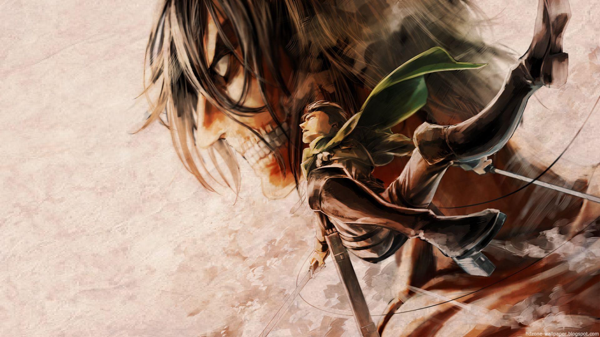 Shingeki No Kyojin Hd Wallpaper Shingeki No Kyojin Titanes Eren Mikasa Attack On Titan Shingeki No Kyojin Anime