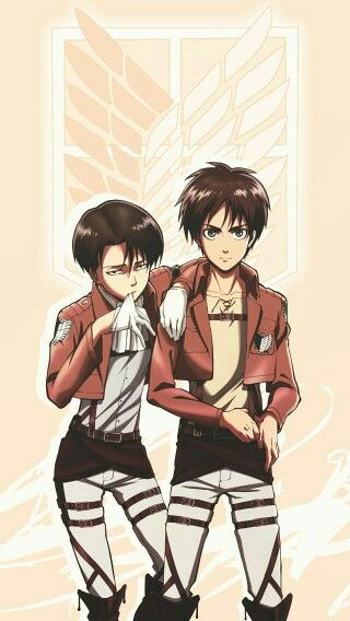 Levi Ackerman And Eren Jager Wings Of Freedom Attack On Titan Attack On Titan Anime Attack On Titan Levi Attack On Titan