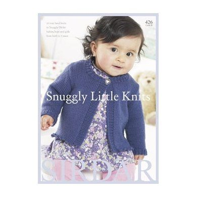 Snuggly Little Knits Knitting Pattern Book By Sirdar Features 12