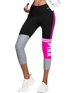 6f3d7eea71b79 Ultimate Bonded Crop Legging | ISO: Clothing in 2019 | Pink leggings ...