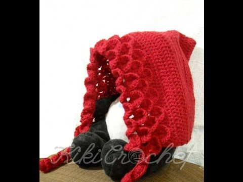 Crochet Crocodile Stitch Pixie Hat (english tutorial- pt1) - YouTube
