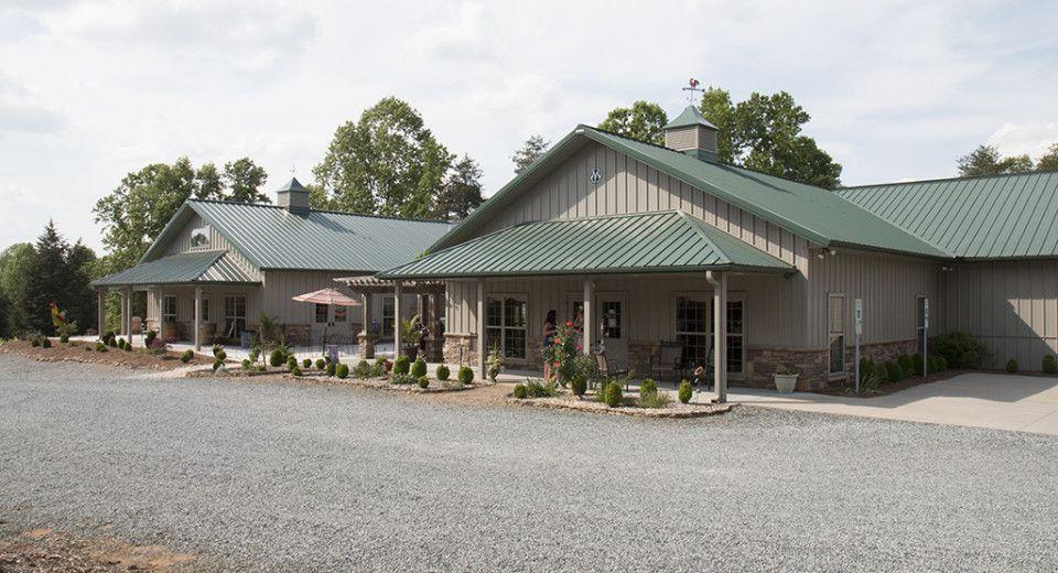 Morton Buildings Winery in Lexington, North Carolina