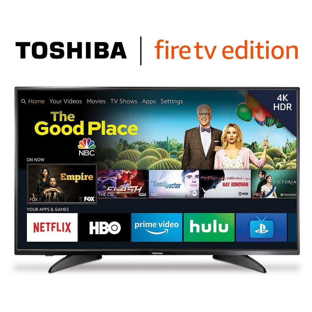 Bestebuys Hot New Big Screen Tv Deals 329 99 Toshiba 50lf621u19 50 Inch 4k Ultra Hd Smart Led Tv Hdr Fire Tv Edition Bestebuys Smart Tv Toshiba Fire Tv