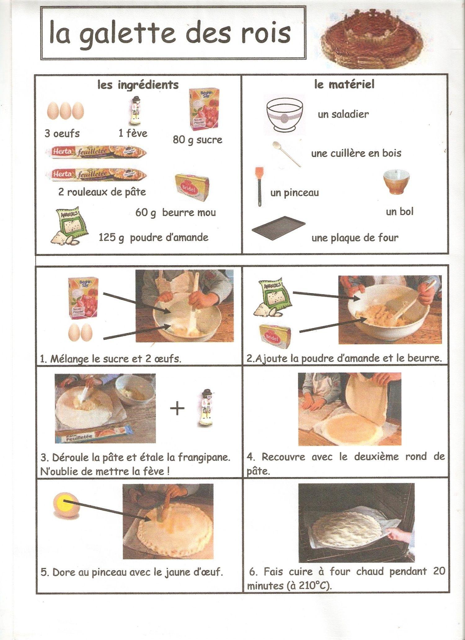 La galette des rois cuisine illustr e desserts cake et recipes - Histoire des recettes de cuisine ...