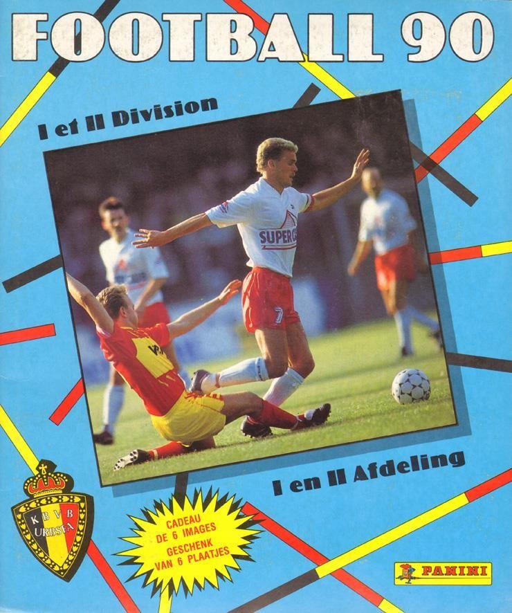 19901991 Uitgave 'Football 90' Panini album Geschenk