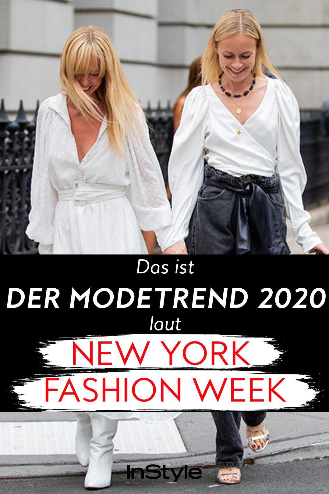 Dieser Modetrend erwartet uns 2020 – laut New York Fashion