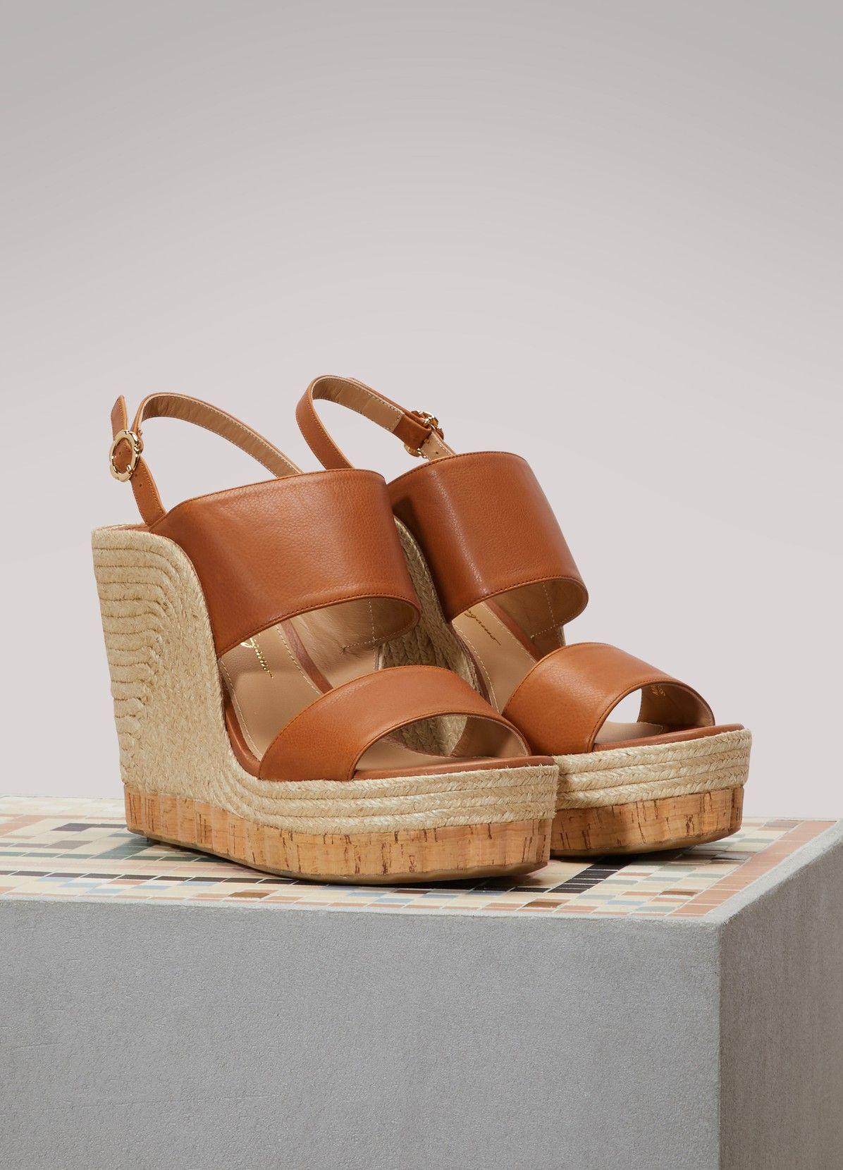 e1f0678e17a SALVATORE FERRAGAMO Maratea wedge sandals