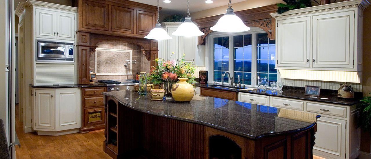 Garman Builders designs beautiful kitchens in their new