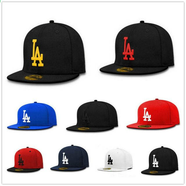 Korkealaatuiset Hot Sellit Lippalakit LA Dodgers Brodeeraus Hip Hop  Snapback-hatut miehille naisille Fitted Hat Gorras Casquette 4945f108b6