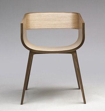 Casamania Maritime Armchair 巡航 扶手椅 ,Benjamin Hubert 設計 / 橡木合板, 木質漆面