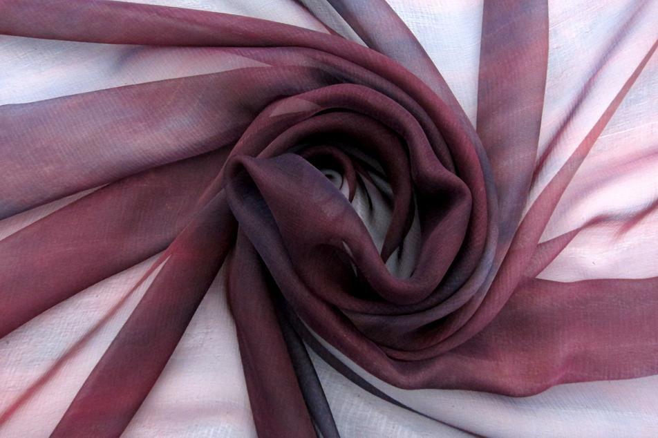 Iridescent Silk Chiffon