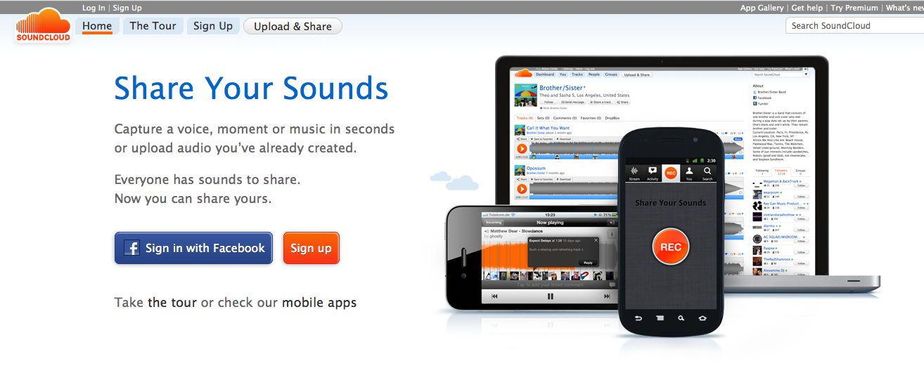 SoundCloud Hear the world's sounds Listen to free