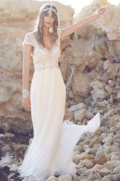 Vestidos de novia bohemios madrid