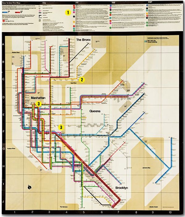 Massimo Vignelli 1972 Nyc Subway Map.Design Is One The Vignellis At The Architecture Design Film