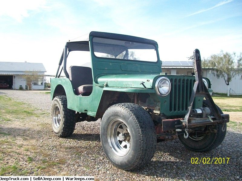Jeeps For Sale and Jeep Parts For Sale - 1947 CJ2 Willys