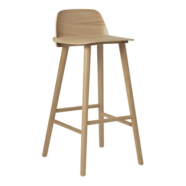 The Nerd Chair Is A Modern Nordic Take On The Iconic All Wood Chair That Effortlessly Reflects Its Classic Scandinavian Bar Stool Bar Stool Chairs Stool Design