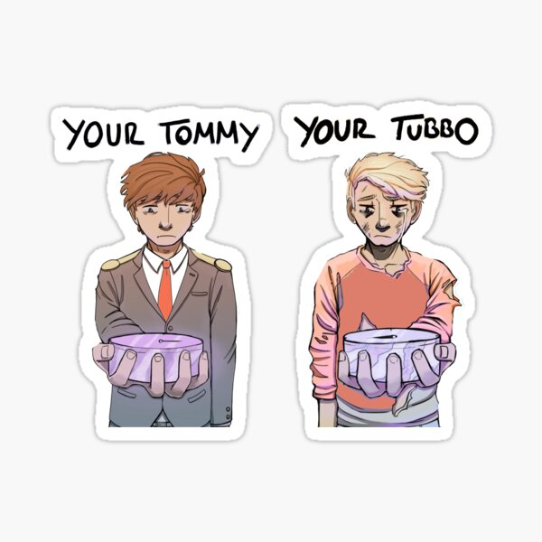 Your Tommy Your Tubbo Design Sticker