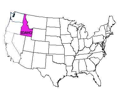Idaho State USA Idaho Pinterest Idaho and State mottos