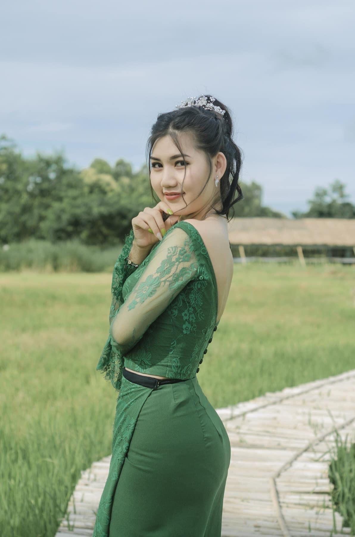 Pin on Myanmar Fashion Models