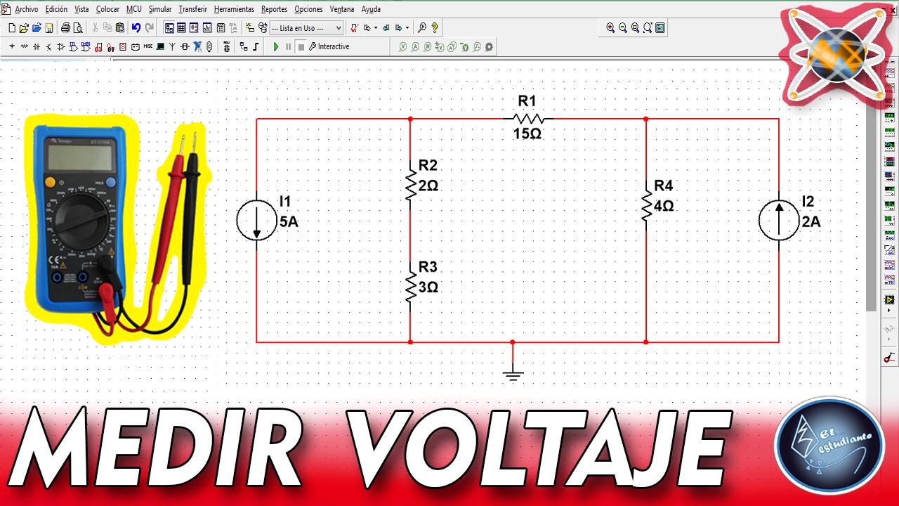 Como Usar Multisim Para Analisis De Circuitos Electricos Analisis De Circuitos Circuito Electrico Circuitos