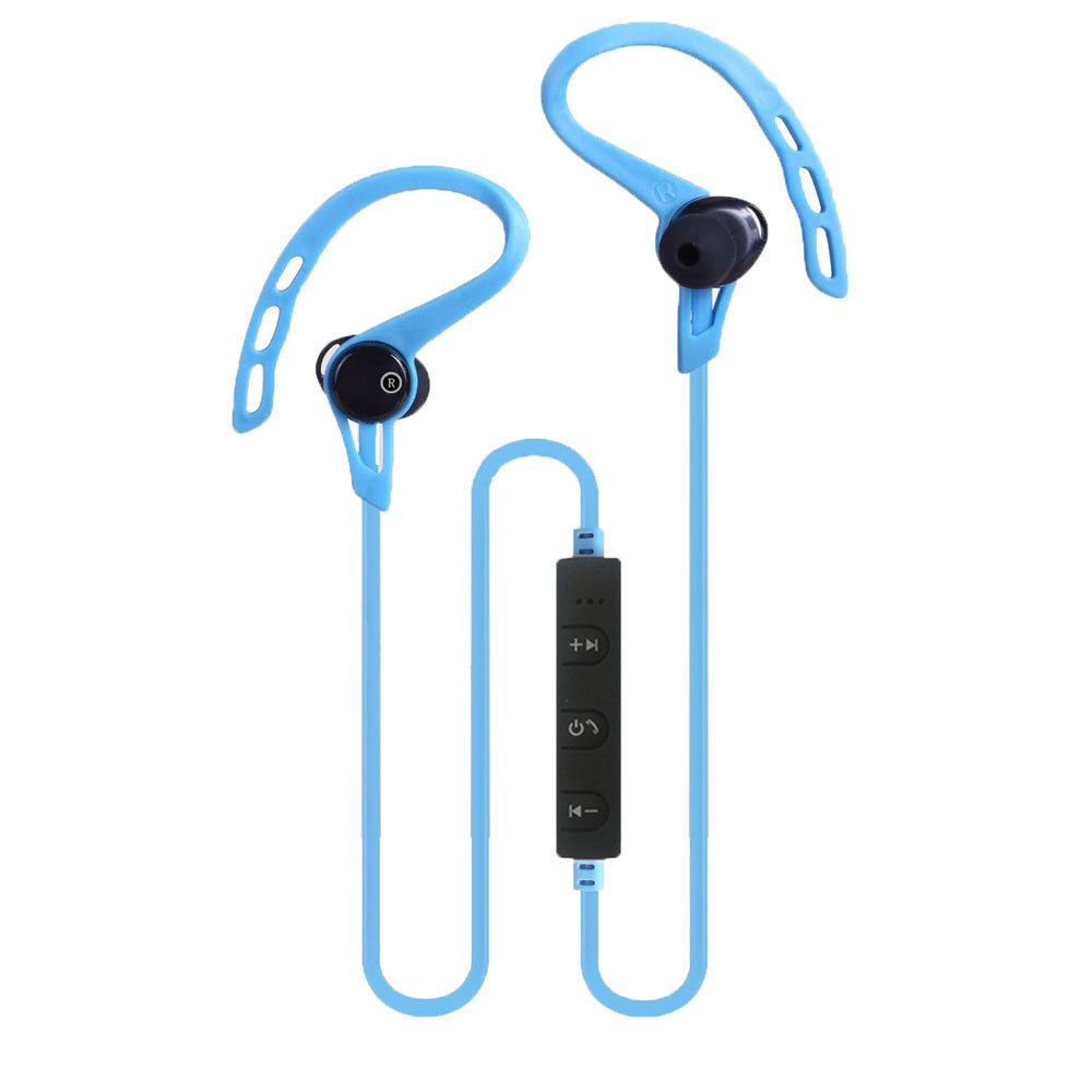 Wireless Bluetooth 41 Headset Stereo Earphone Sport Earbud Jabra On Lg Speaker Universal Blue