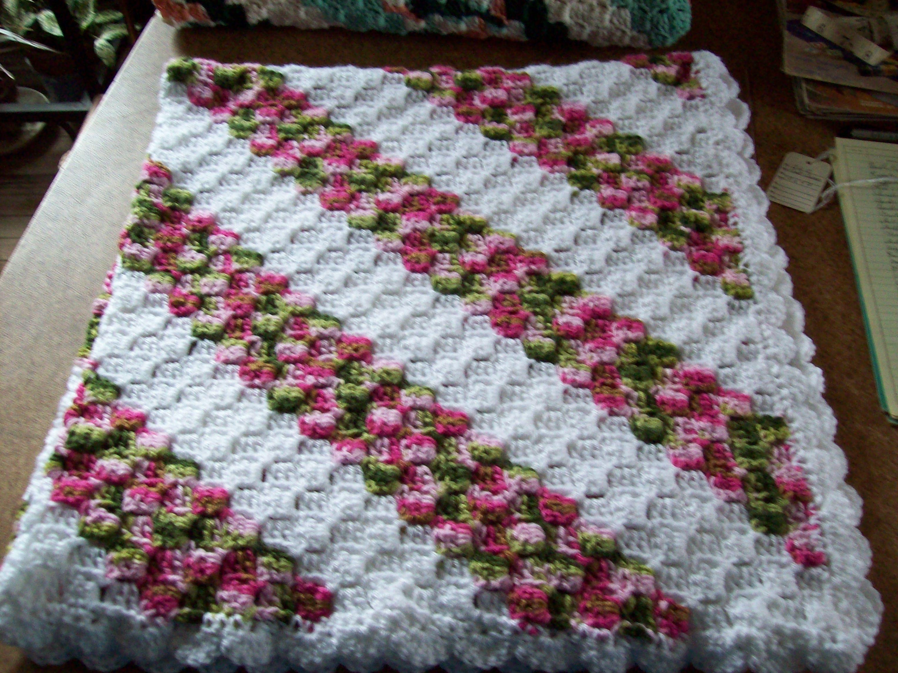 Crochet Pattern For C2c Blanket : C2c Baby Blanket 3rdrevolution Crochet & Knitting ...