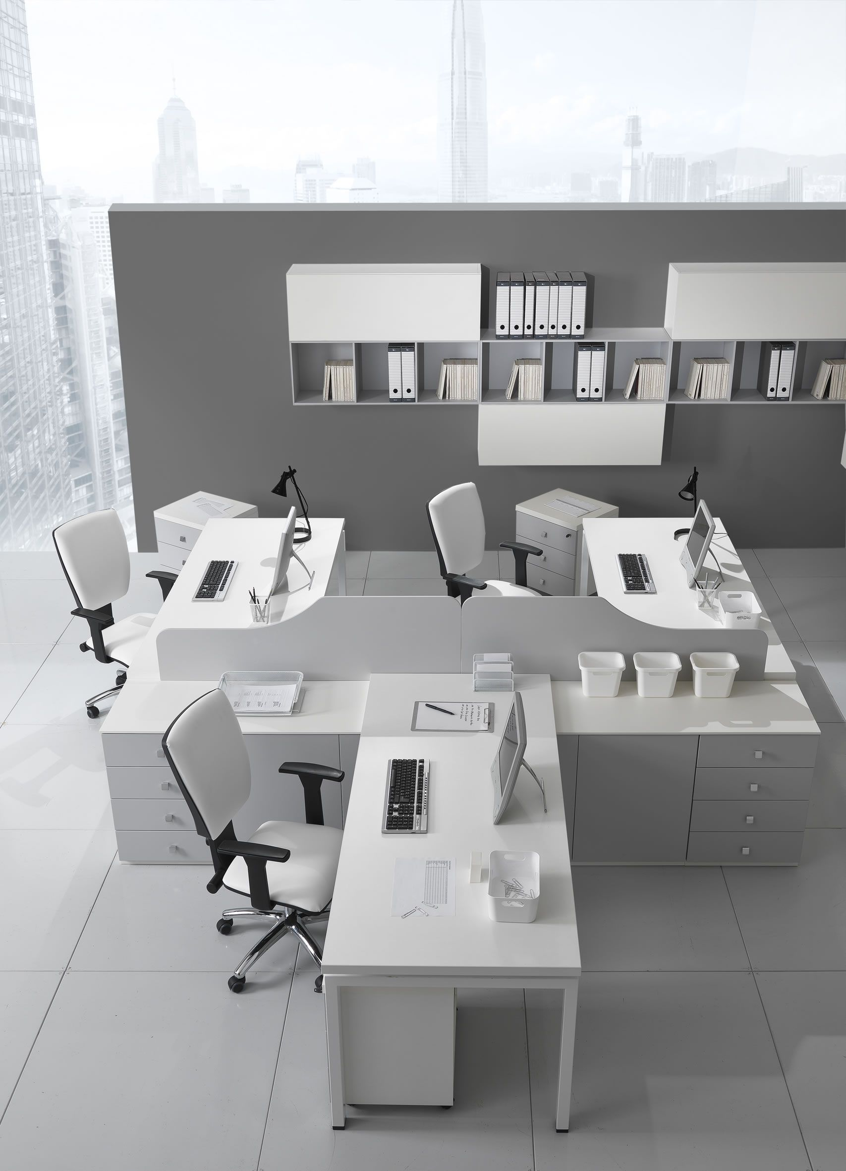 Officetime the perfect solution to organize your work for Mobili ufficio moderni