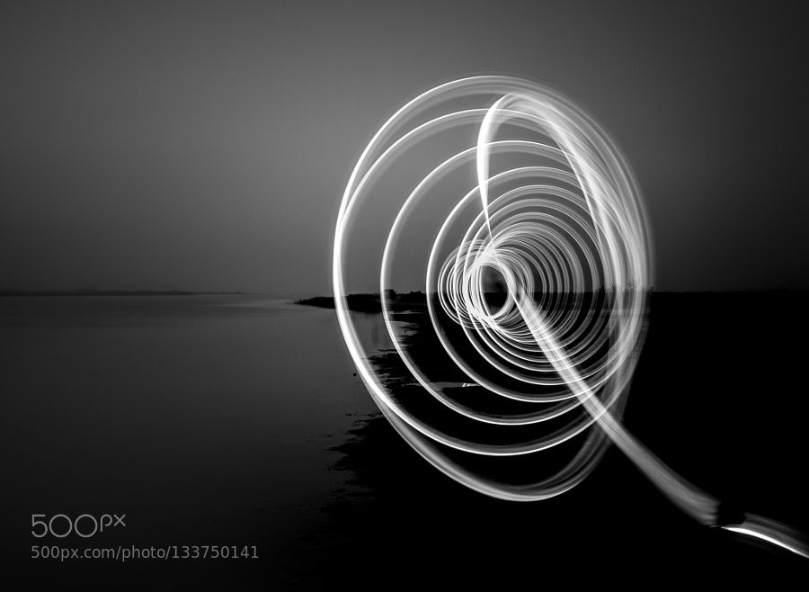 Circle of Light - Pinned by Mak Khalaf My camera allowed nature to speak to me. And it was my privilege to listen. Fine Art Circle of Lightb&wblack and whitecirclelightoceantexas by Bbosasyphotography