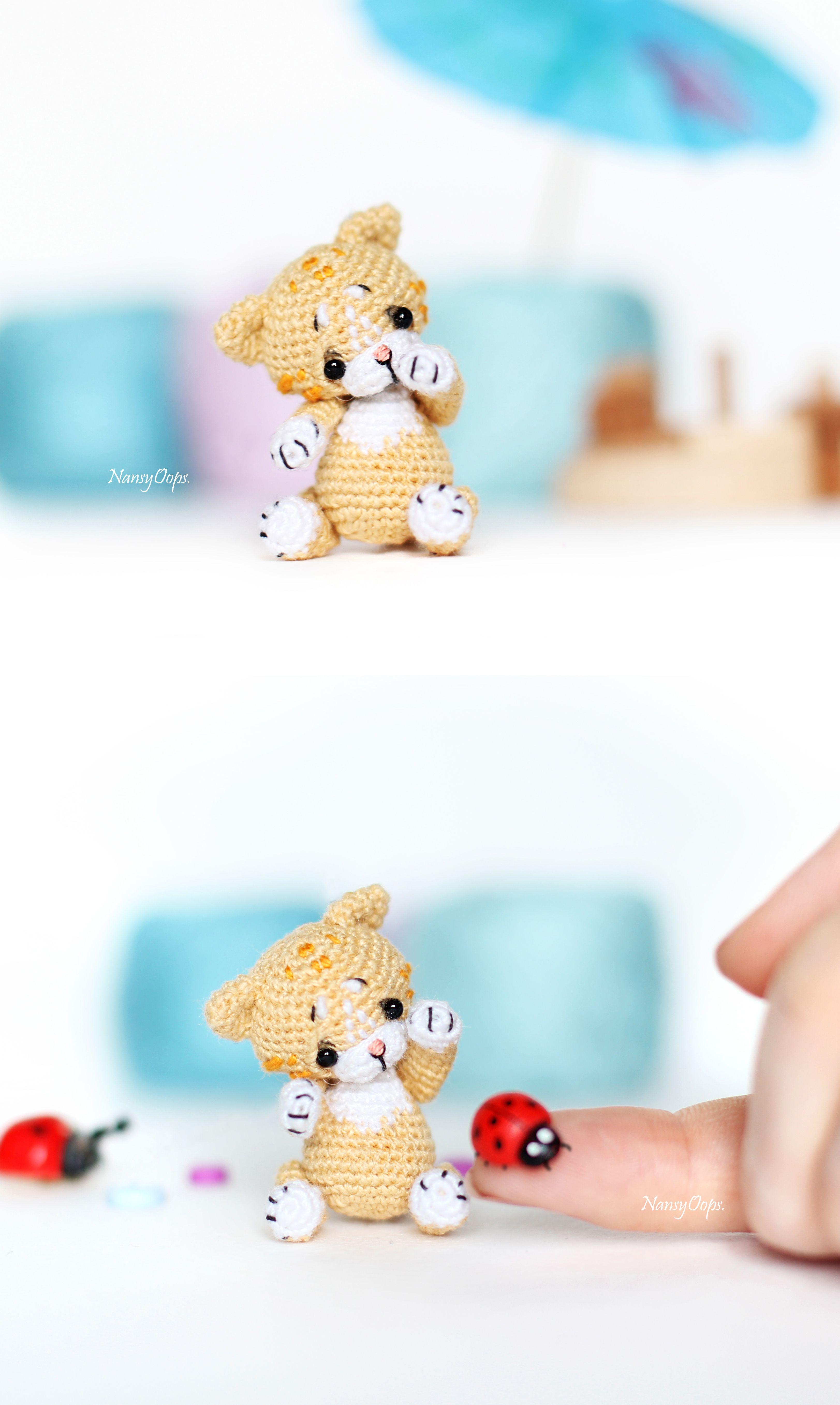 Tiny cat amigurumi pattern | Amiguroom Toys | 5429x3246